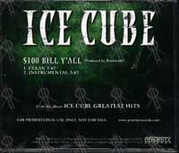ICE CUBE - $100 Bill Y'all - 2