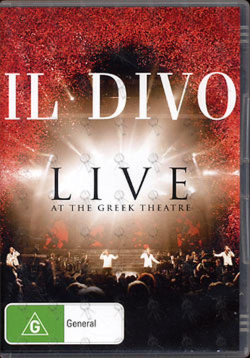 IL DIVO - Live At The Greek Theatre - 1