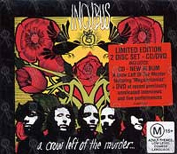 INCUBUS - A Crow Left Of The Murder (CD, CD / DVD) | Rare ... A Crow Left Of The Murder