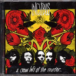 INCUBUS - Patch (Miscellaneous, Patches) | Rare Records A Crow Left Of The Murder