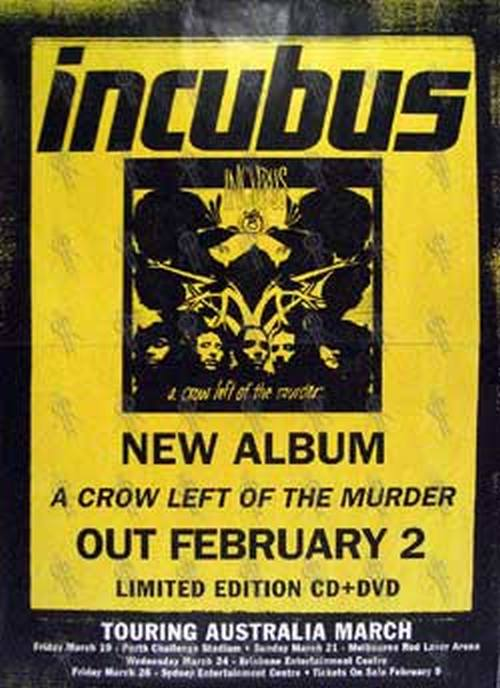 INCUBUS - 'A Crow Left Of The Murder - Limited Edition CD ... A Crow Left Of The Murder