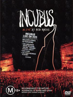 INCUBUS - Alive At Red Rocks - 1