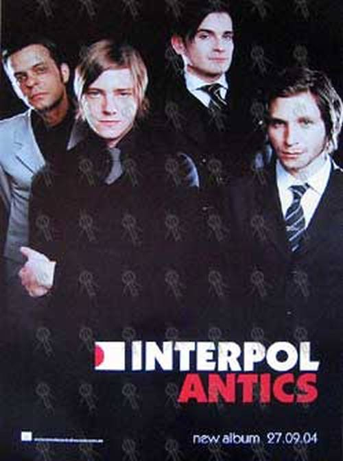 Interpol antics album