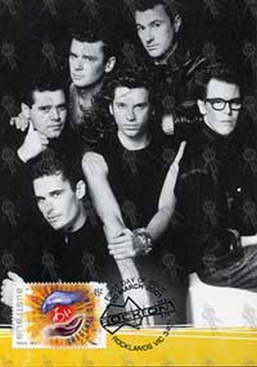 INXS - 'Rock On Australia' First Day Issue Stamp & Postcard - 1