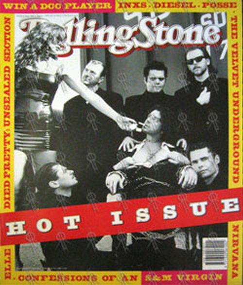Inxs Rolling Stone August 1993 Inxs On Cover