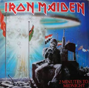 IRON MAIDEN - 2 Minutes To Midnight - 1