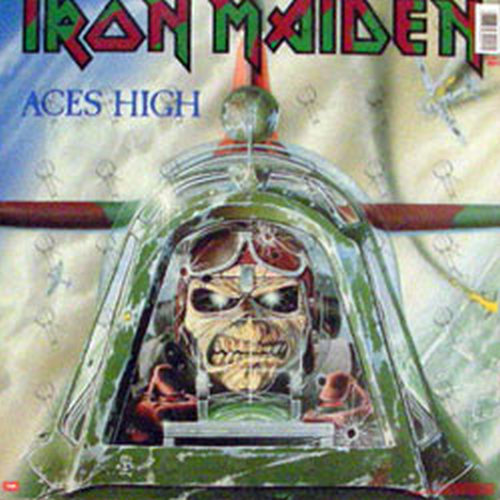 Iron Maiden 2 Minutes To Midnight Aces High 12 Inch
