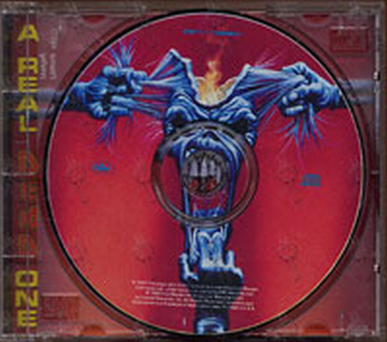 IRON MAIDEN - A Real Dead One (Album, CD) | Rare Records