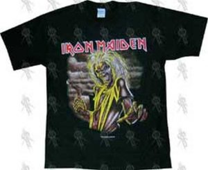 IRON MAIDEN - Black 'Killers' T-Shirt - 1