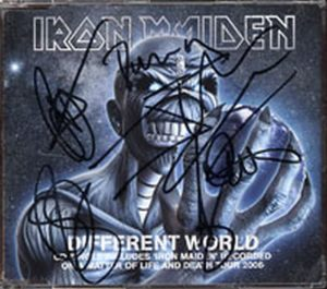 IRON MAIDEN - Different World - 1