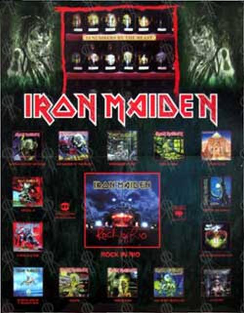 IRON MAIDEN - 'Rock In Rio' Live Album & Discography - 1