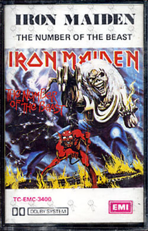 Iron Maiden Number Of The Beast Single IRON MAIDEN - The Numb...