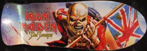 IRON MAIDEN - 'The Trooper' Design Skateboard Deck - 1