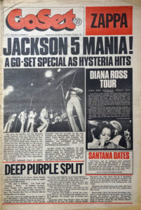 JACKSON 5-- THE - 'GoSet' - 7th July 1973 - Volume 8 - Number 27 - The Jackson 5 On Cover - 1