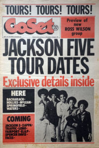 JACKSON 5-- THE - 'GoSet' - 9th May 1973 - Volume 8 - Number 20 - The Jackson 5 On Cover - 1
