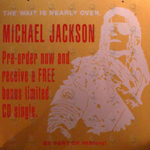 JACKSON-- MICHAEL - 'HIStory' Album Hanging Display - 1