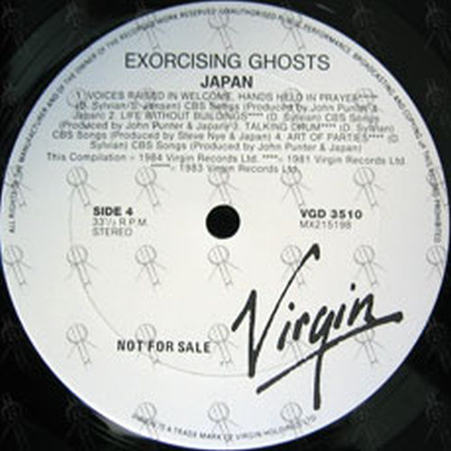JAPAN - Exorcising Ghosts - 3