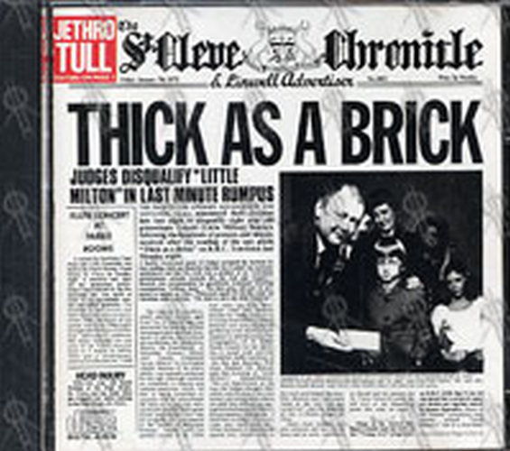 Jethro Tull Thick As A Brick Tour