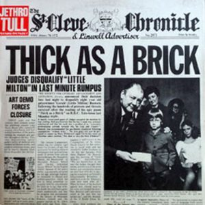 JETHRO TULL - Thick As A Brick - 1