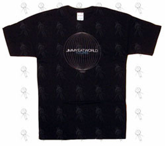 JIMMY EAT WORLD - Black 'Futures Balloon' Design T-Shirt - 1
