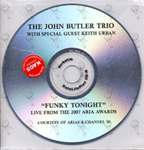 JOHN BUTLER TRIO-- THE - Funky Tonight (with Kieth Urban) (Live From The 2007 Aria Awards) - 1