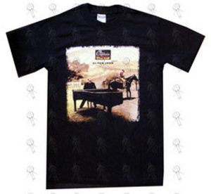 JOHN-- ELTON - Black 'The Captain & The Kid' World Tour T-Shirt - 1