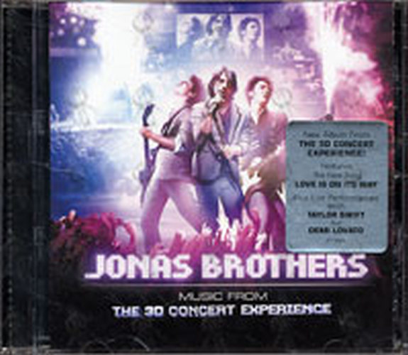 JONAS BROTHERS - Music From The 3D Concert Experience - 1