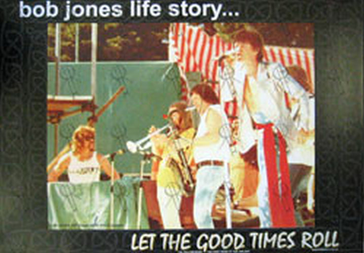 JONES-- BOB|ROLLING STONES - 'Let The Good Times Roll' Book Poster - 1
