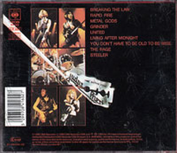 JUDAS PRIEST - British Steel - 2