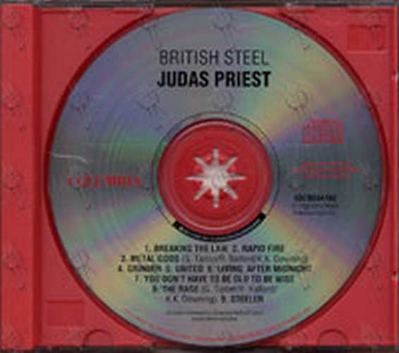 JUDAS PRIEST - British Steel - 3
