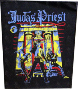 JUDAS PRIEST - 'Sin After Sin' Back Patch - 1