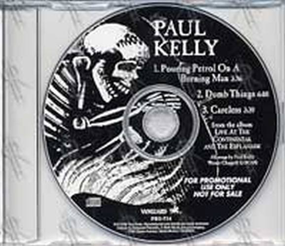 KELLY-- PAUL - 'Live At The Continental And The Esplanade' Album Sampler - 1