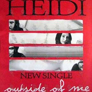 KILLING HEIDI - 'Outside of Me' Single Poster - 1
