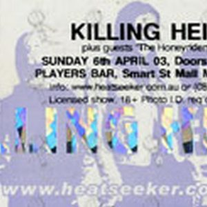 KILLING HEIDI - Players Bar