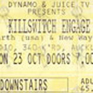 KILLSWITCH ENGAGE - Monday 23 October 2006