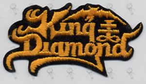 KING DIAMOND - Embroidered Logo Patch - 1
