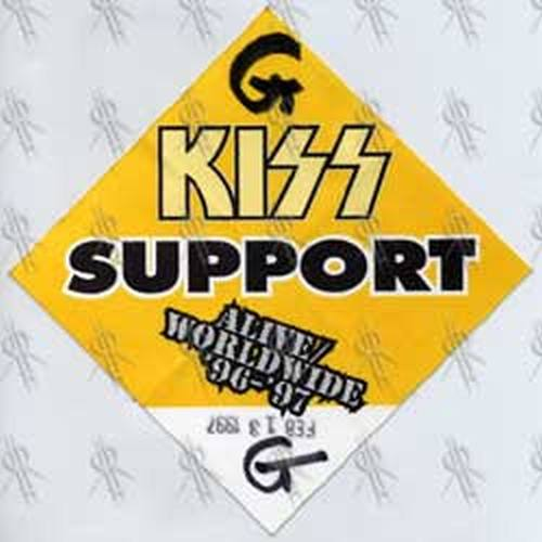 KISS - 'Alive' 1996-97 Worldwide Tour Support Pass - 1