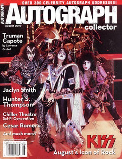 KISS - 'Autograph Collector' - August 2005 - Kiss On Front Cover - 1