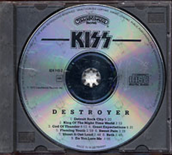 KISS - Destroyer - 3
