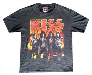 KISS - Reunion Era Black T-Shirt - 1