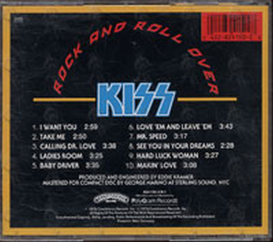 KISS - Rock And Roll Over - 2
