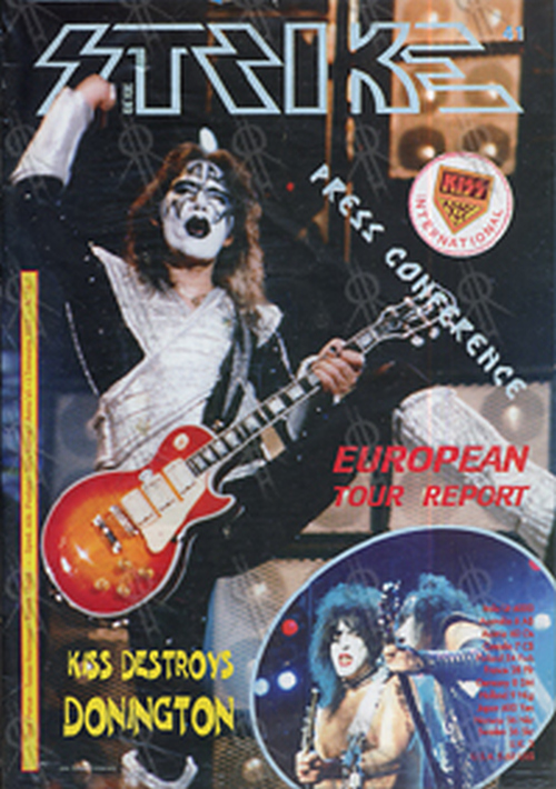KISS - 'Strike' Fanzine - #18 - March 1997 - 1
