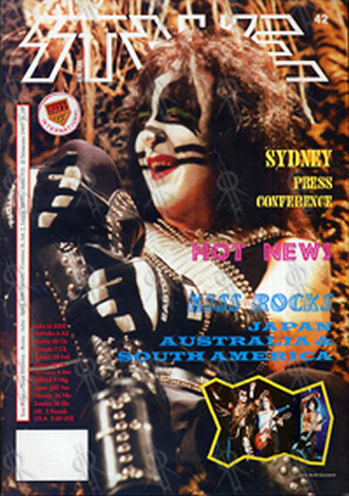 KISS - 'Strike' Fanzine - #19 - June 1997 - 1