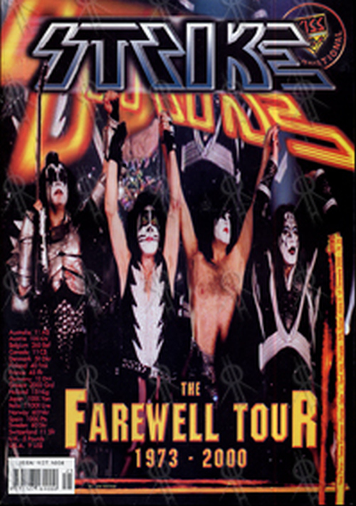 KISS - 'Strike' Fanzine - #25 - December 2000 - 1
