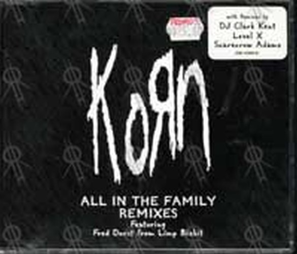 KORN - All In The Family (remixes) - 1