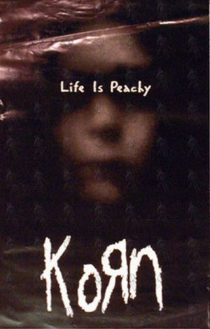 KORN - Double Sided 'Life Is Peachy' Album Poster - 1