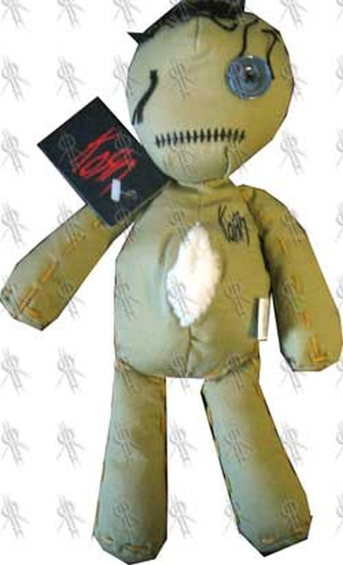 KORN - 'Issues' Rag Doll (Figurines, Miscellaneous)   Rare
