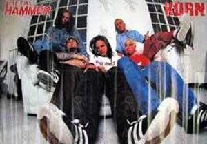 KORN - 'Metal Hammer' Lift Out Poster - 1