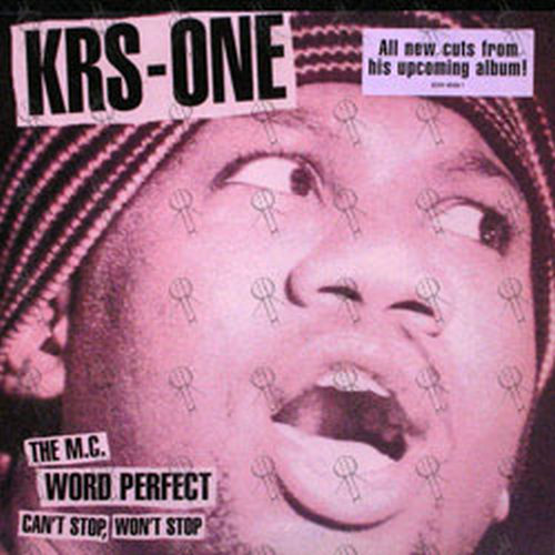 KRS ONE - Can't Stop