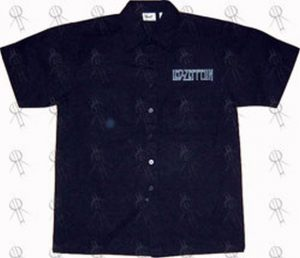 LED ZEPPELIN - Black Dickies-Style Workshirt - 1